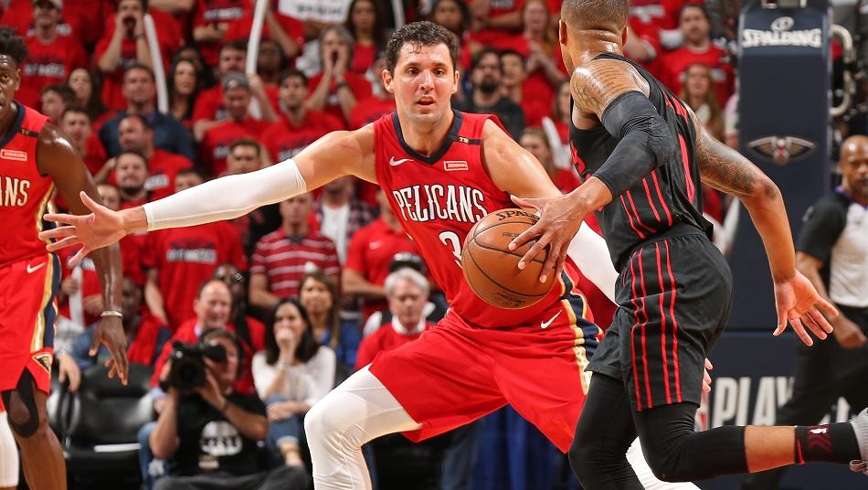 Mirotic Pelicans All-breakout-Teamd NBA Playoffs 2018 1st