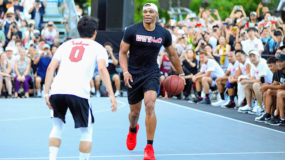 Russell Westbrook WHY NOT? Tour