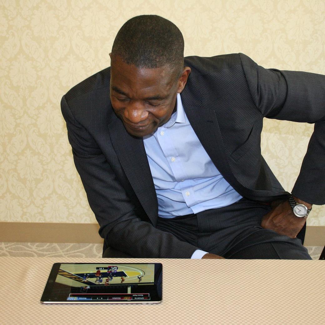 Dikembe Mutombo NBA Live