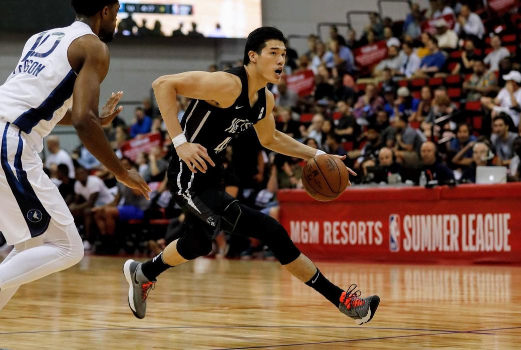 渡邊雄太 Yuta Watanabe Nets NBA Summer League Photo by Yukihito Taguchi