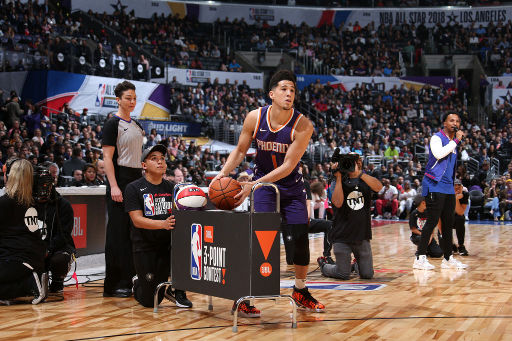 2018 NBA All-Star Devin Booker