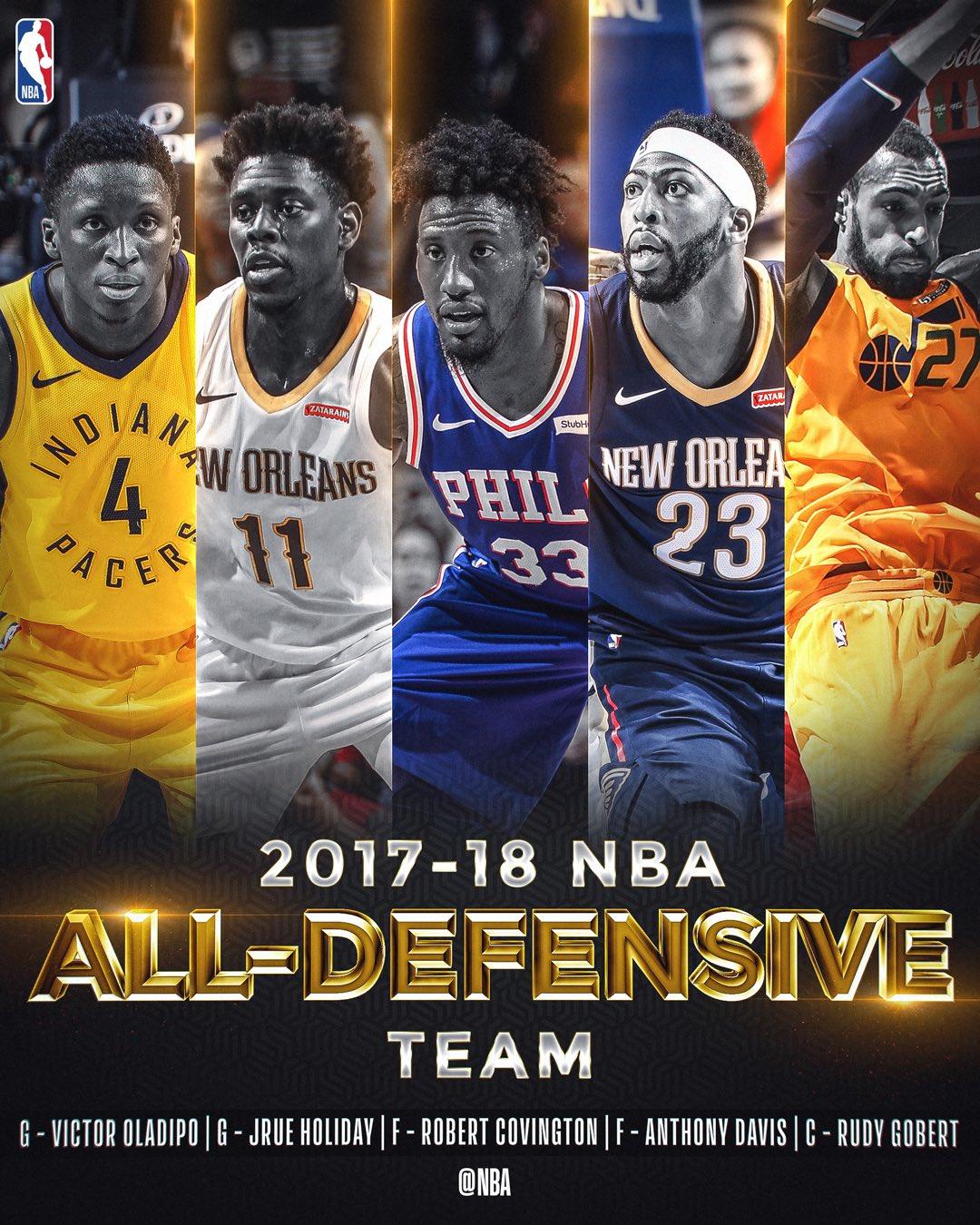 2017-18 NBA All-Defensive Team