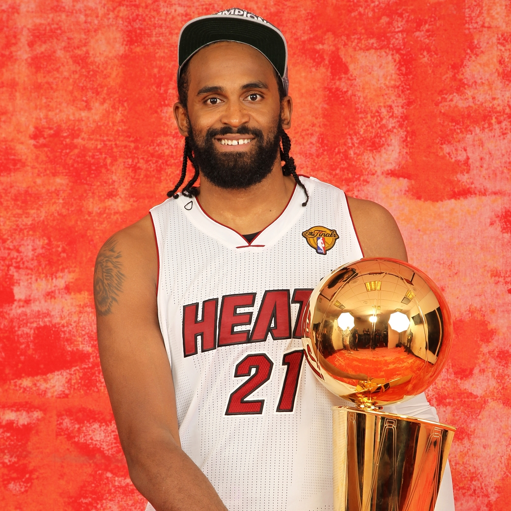 Ronny Turiaf Heat 2012 Champion