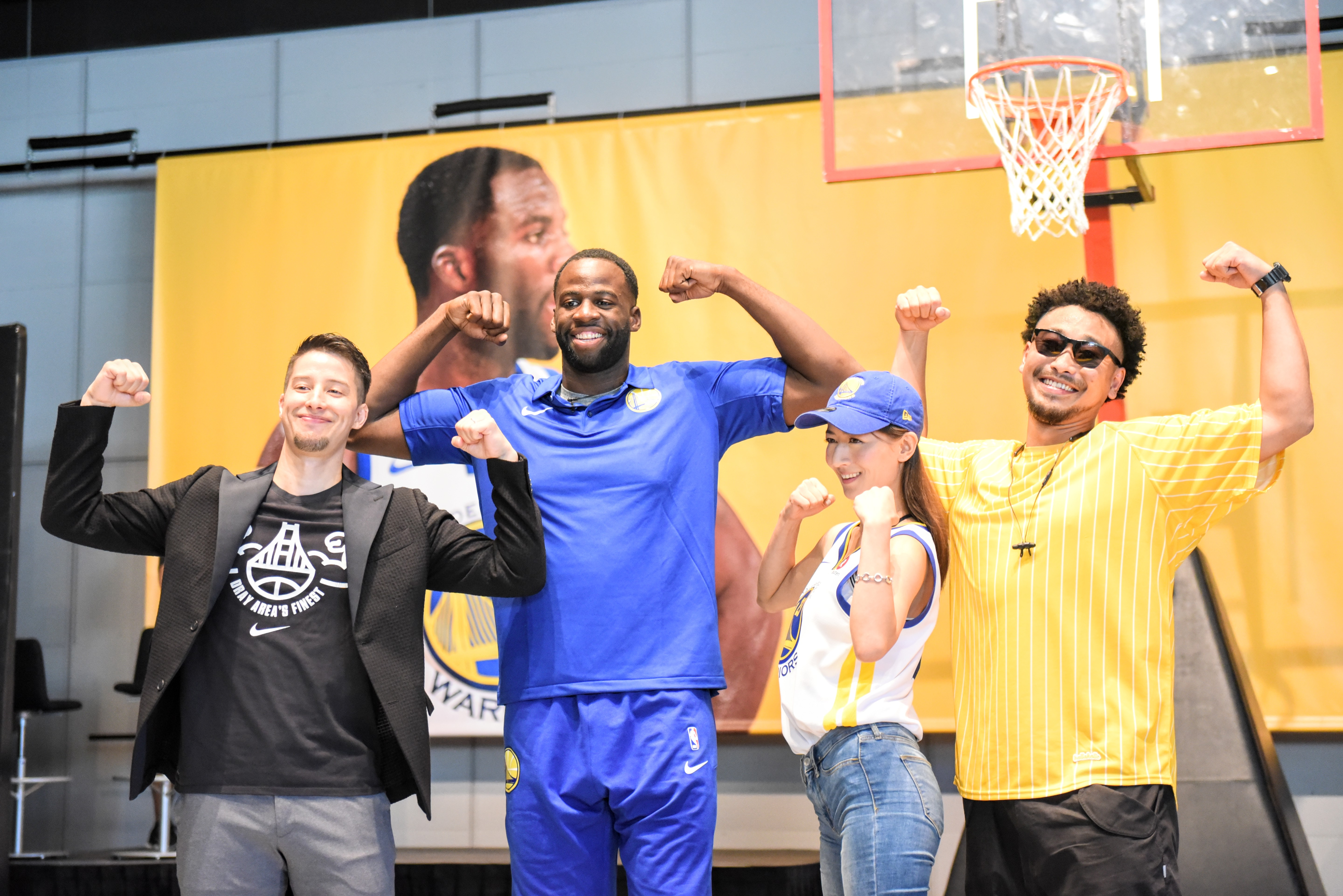 Draymond Green in Japan
