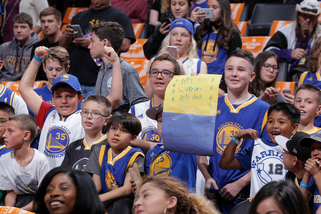 NBA Fan Warriors