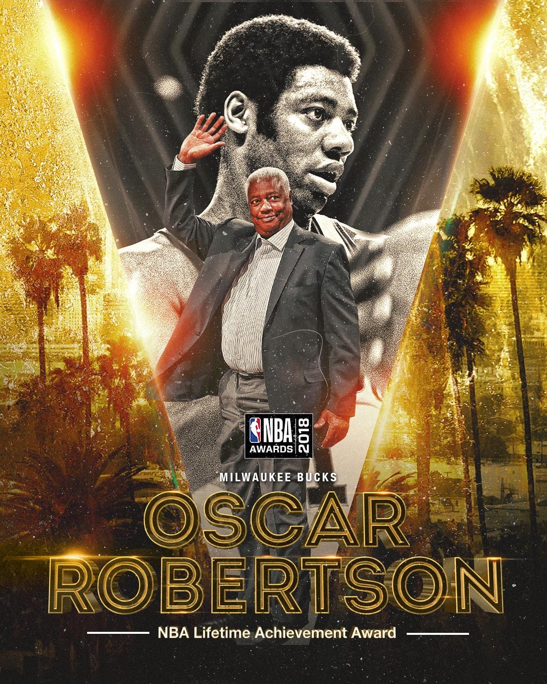 2018 NBA Awards NBA Lifetime Achievement Award