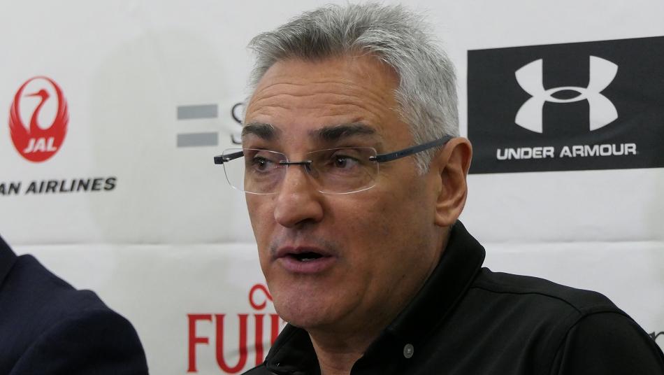 Julio Lamas Japan National Team Head Coach
