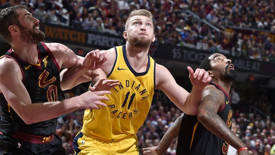 Sabonis Pacers All-breakout-Teamd NBA Playoffs 2018 1st