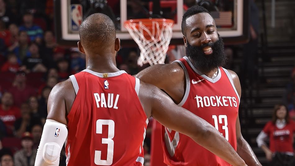 ジェームズ・ハーデン クリス・ポール ヒューストン・ロケッツ EA NBA LIVE バスケットボール