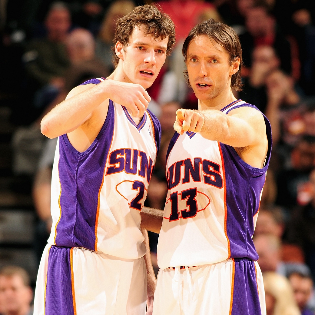 Goran Dragic NBA Suns Steve Nash