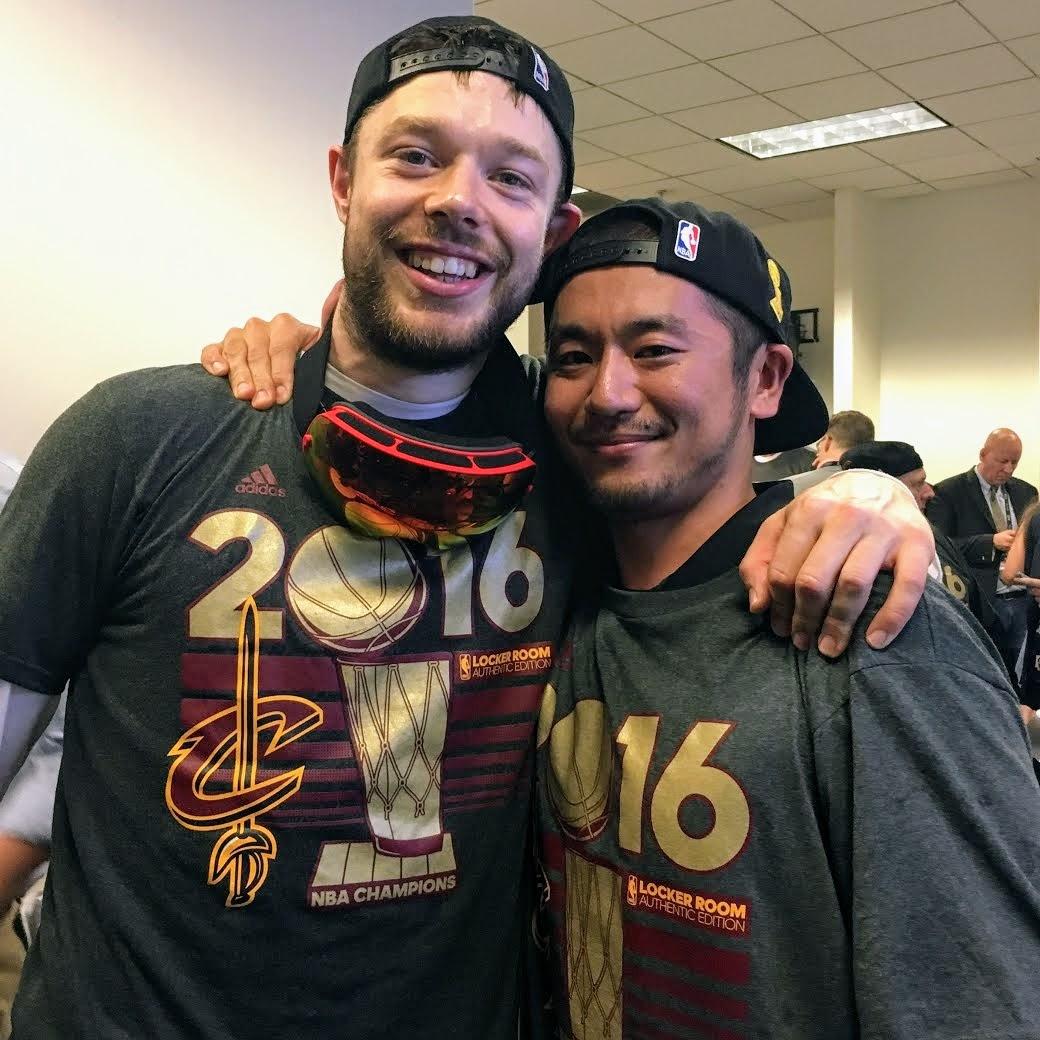 中山佑介 Yusuke Nakayama Matthew Dellavedova Cleveland Cavaliers