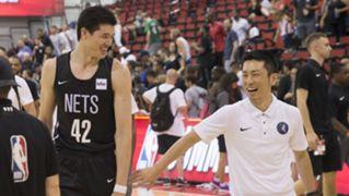 Yuta Watanabe Daisuke Yoshimoto  渡邊雄太 吉本泰輔