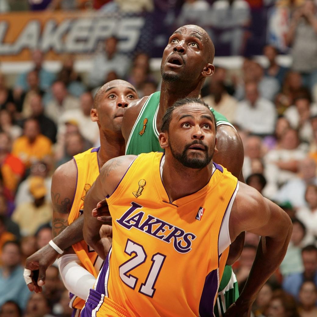 Ronny Turiaf Lakers 2008 NBA Finals