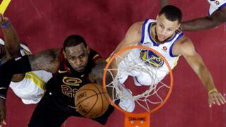 NBA Finals 2018 LeBron James Stephen Curry Cavaliers Warriors
