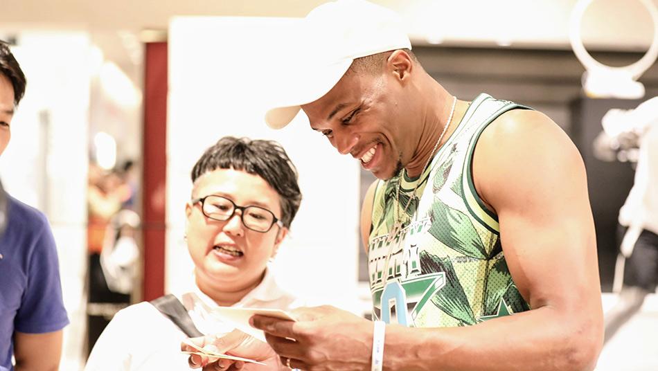 Russell Westbrook, Nanae Yamano
