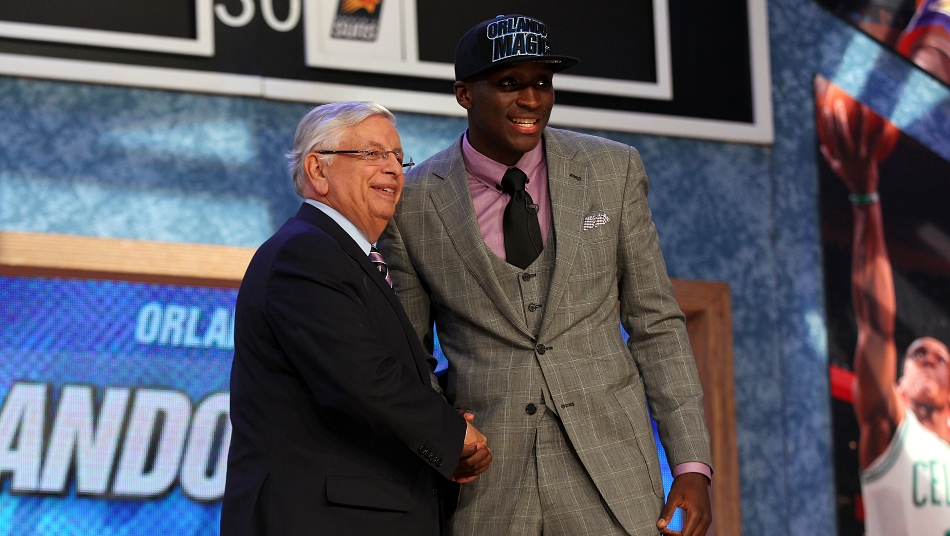 Victor Oladipo David Stern 2013 NBA Draft