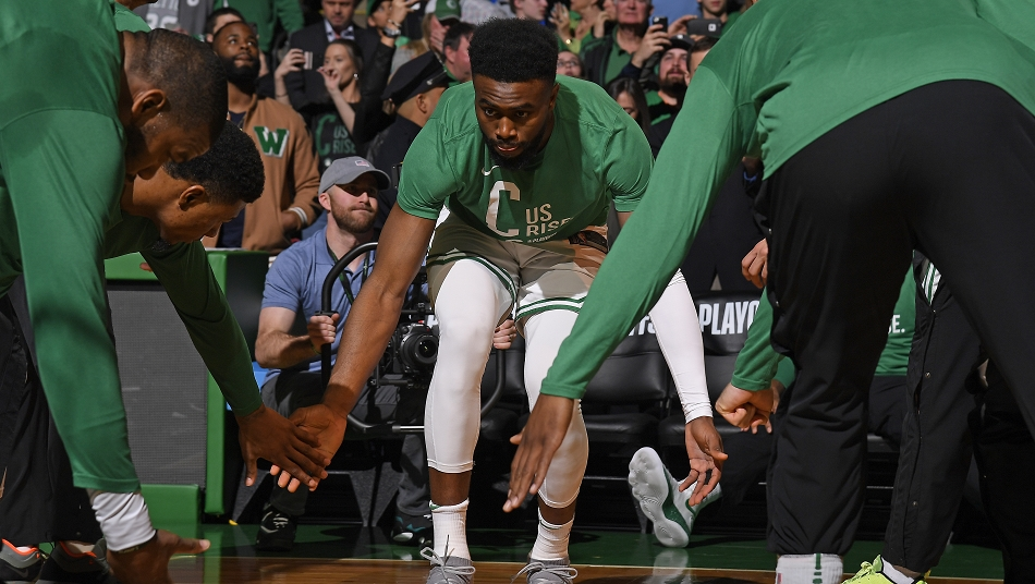 Jaylen Brown Celtics All-breakout-Teamd NBA Playoffs 2018 1st