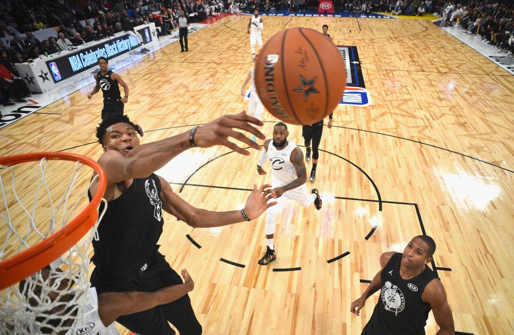 2018 NBA All-Star Giannis Antetokounmpo