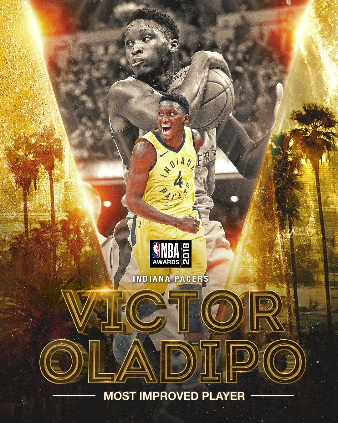 NBA Awards NBA Most Improved Player Award - Oladipo