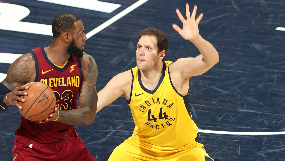 Bogdanovic Pacers All-breakout-Teamd NBA Playoffs 2018 1st