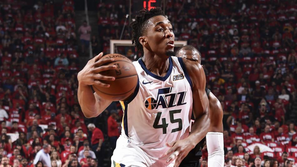 Donovan Mitchell Utah Jazz