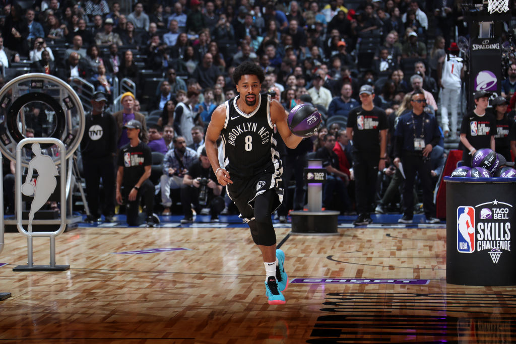 2018 NBA All-Star Spencer Dinwiddie