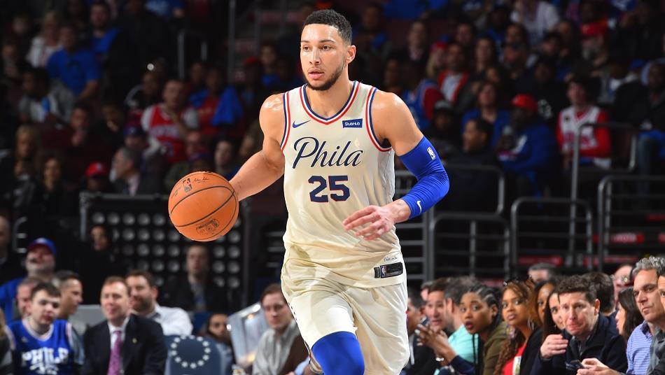 ベン・シモンズ フィラデルフィア・76ers EA NBA LIVE バスケットボール