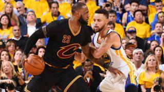 NBA Finals 2017 LeBron James Cavaliers Stephen Curry Warriors