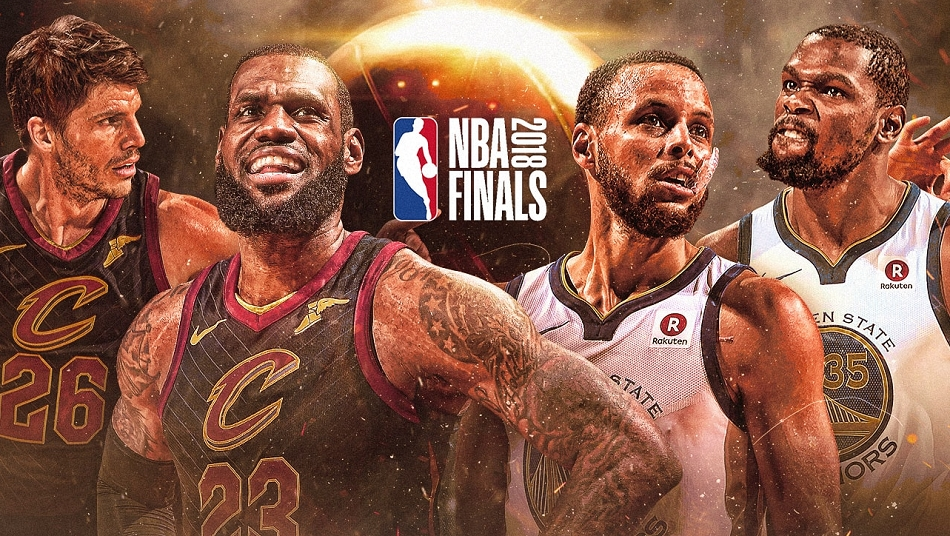 NBA Finals 2018 Golden State Warriors Cleveland Cavaliers