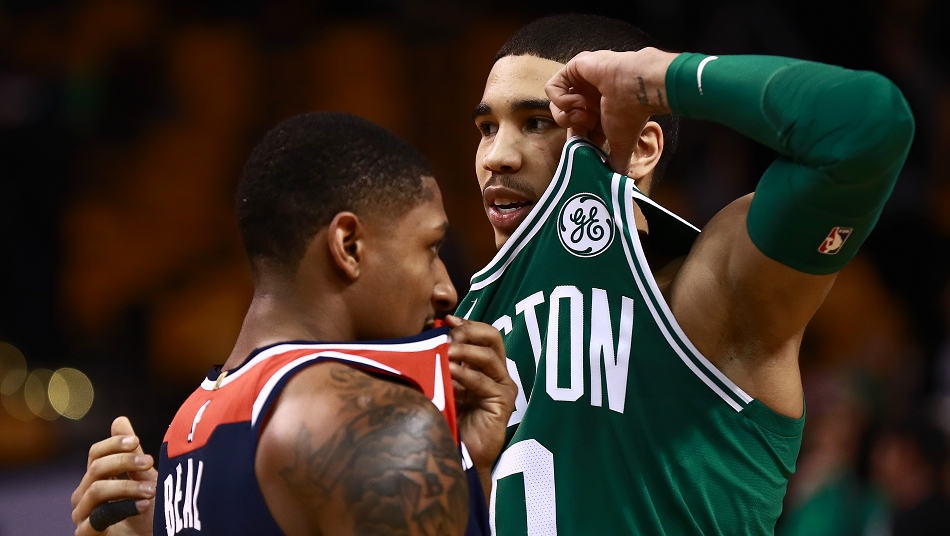 Jason Tatum Celtics Bradley Beal Washington Wizards