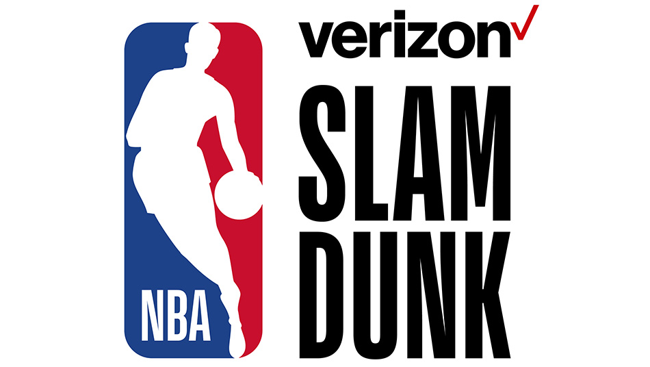 NBA All-Star 2018 Verizon Slam Dunk logo 950x536