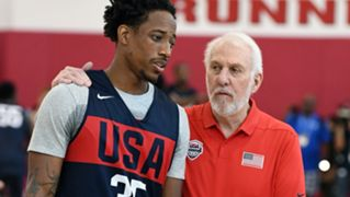 Gregg Popovich Demar Derozan USA National Team