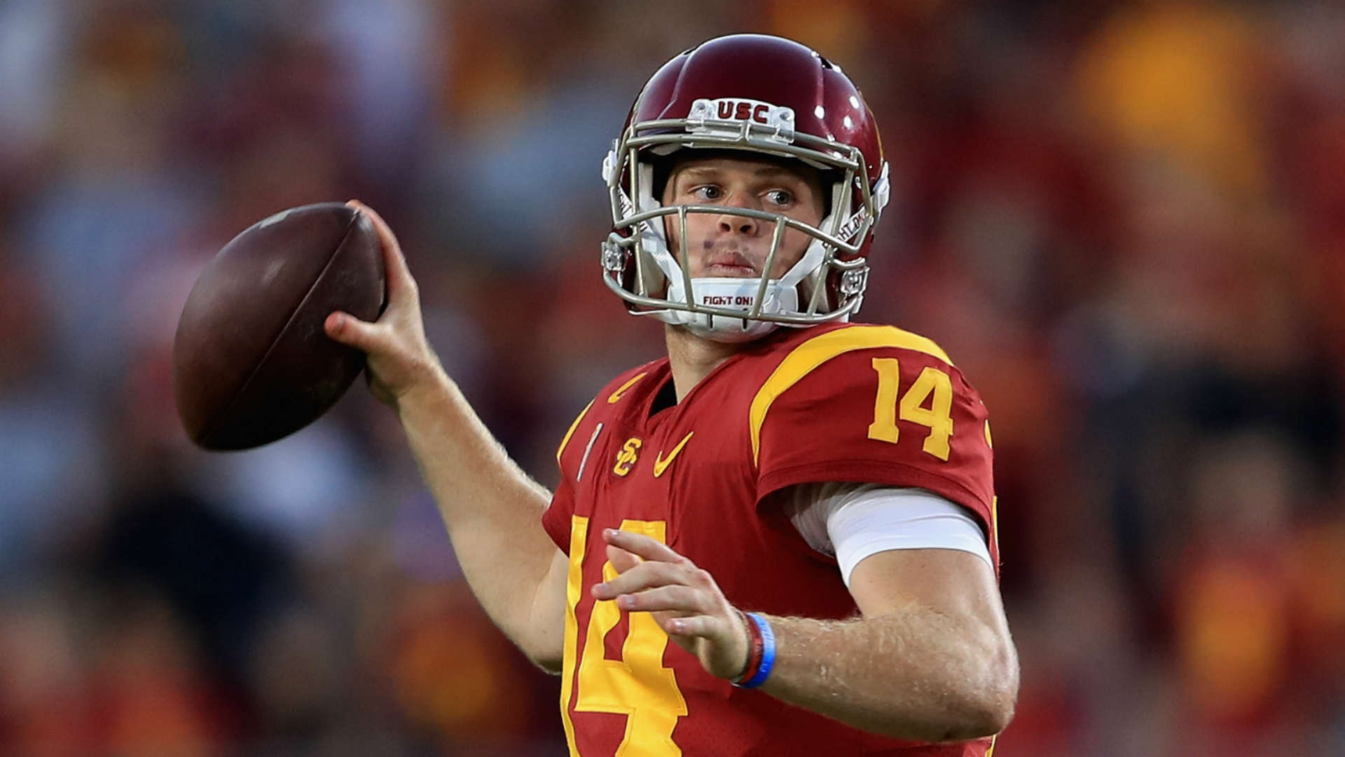 USC's Sam Darnold unlikely to enter NFL Draft after season, report says