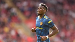 Paul Pogba in action during Manchester United's draw at Southampton