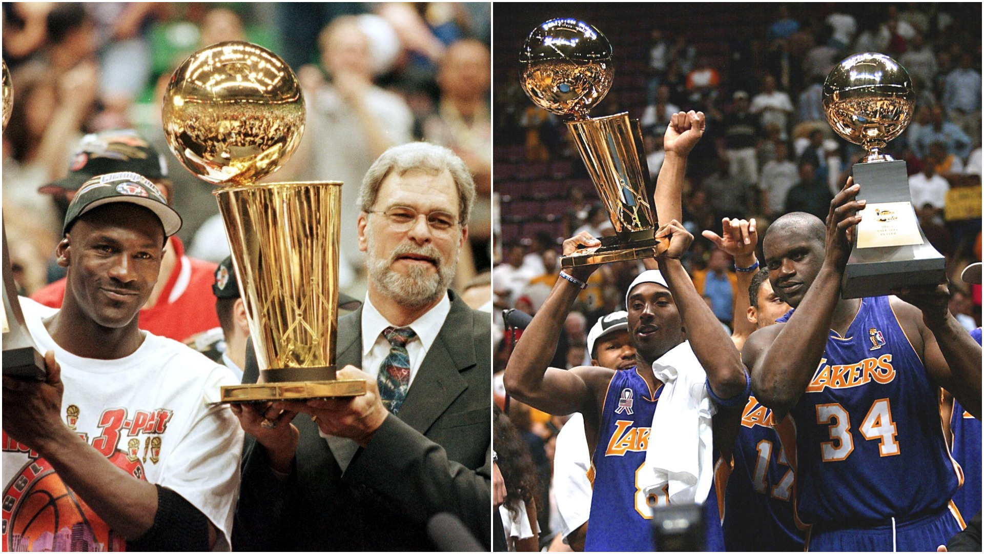 Jordan's Bulls and Kobe's Lakers: The three-peat teams Golden State is trying to emulate