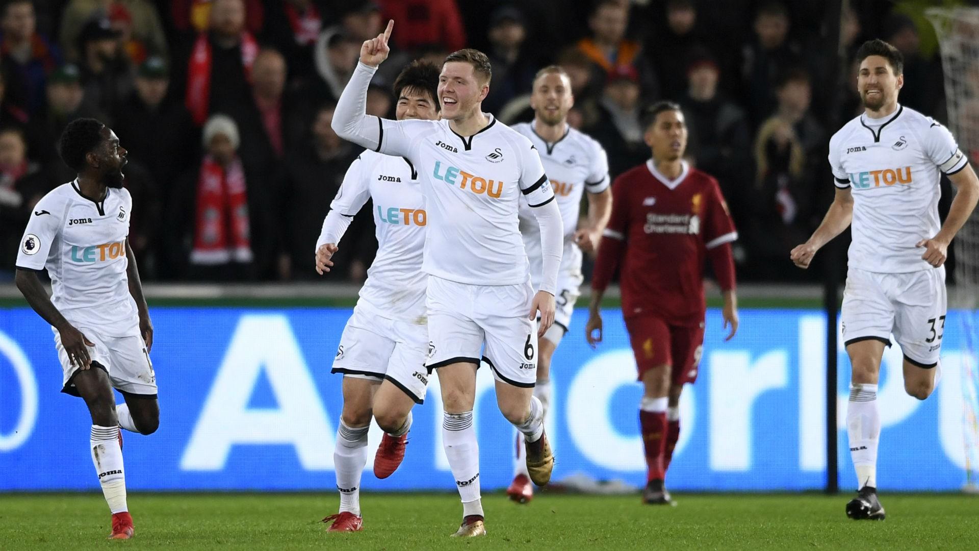 BPL (2017-2018) Report: Swansea City 1 Liverpool 0 - Mawson ends Reds' unbeaten run