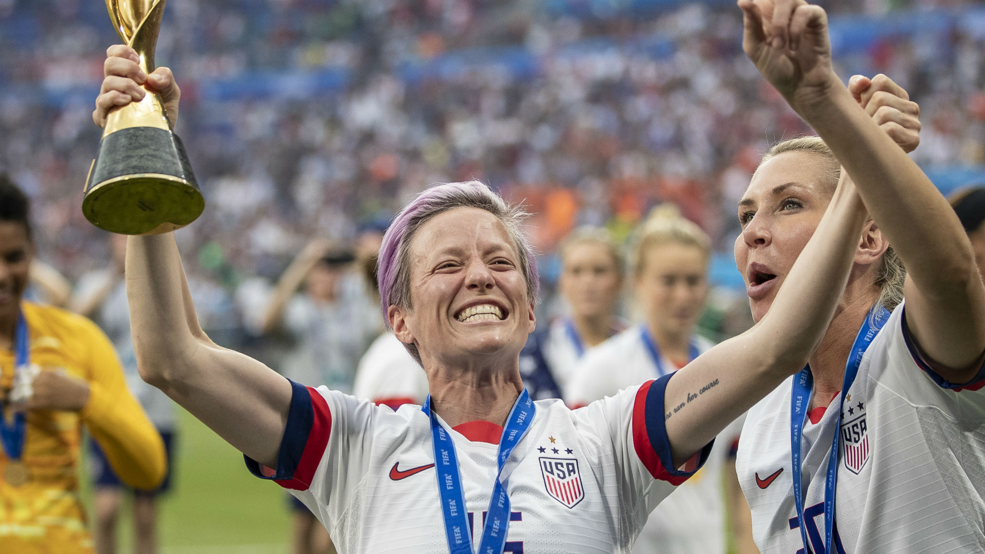WNBA star Sue Bird says Megan Rapinoe 'went out there and balled out' in World Cup