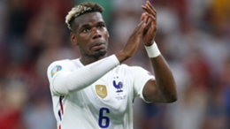 Paul Pogba following France's draw with Portugal