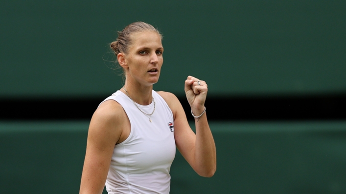 Karolina Pliskova is into the Wimbledon final
