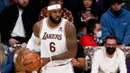 Injured Lakers superstar LeBron James