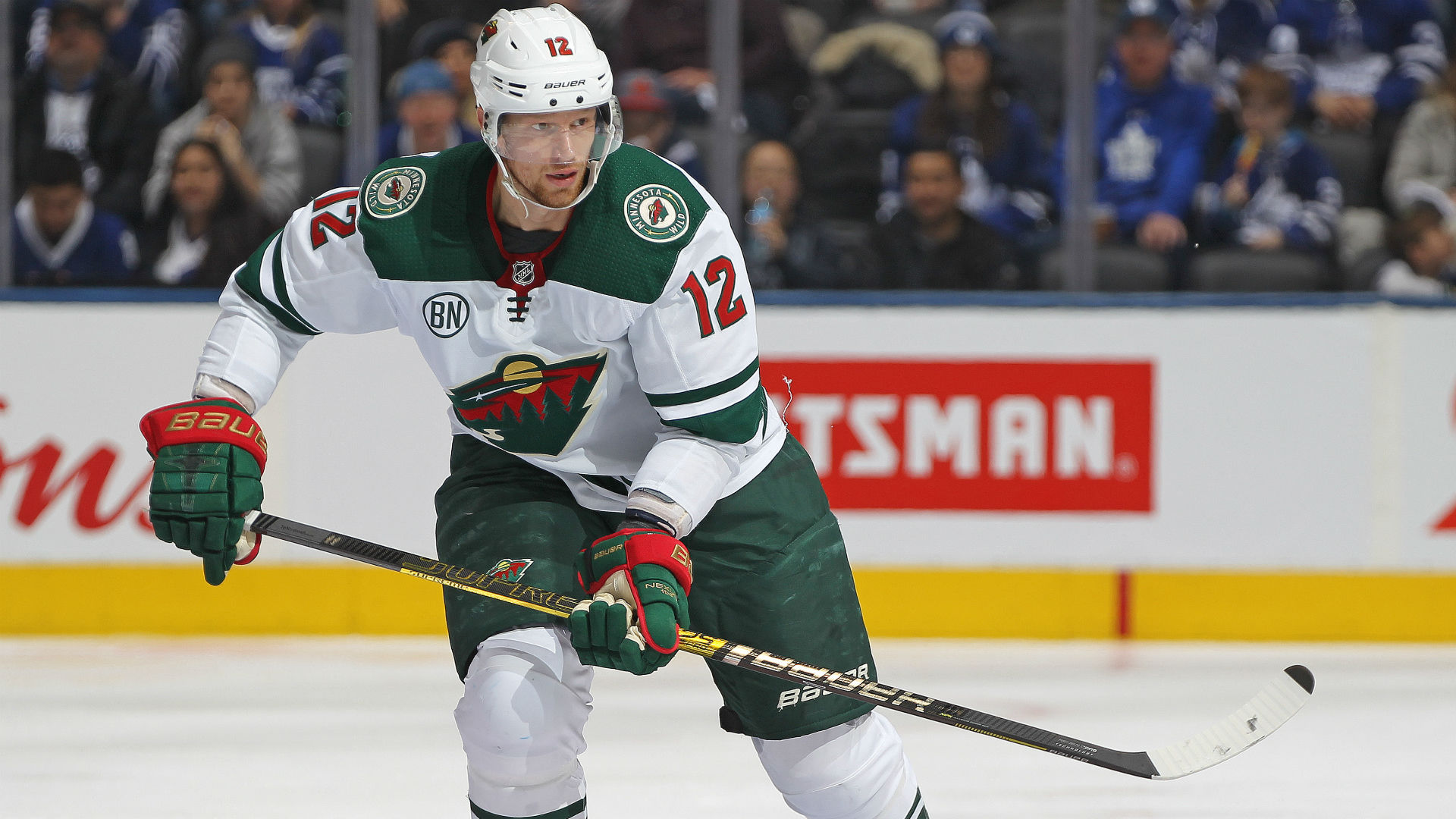 meet 7a07d 1c1cf Eric Staal agrees to 2-year extension with Wild | Sporting News