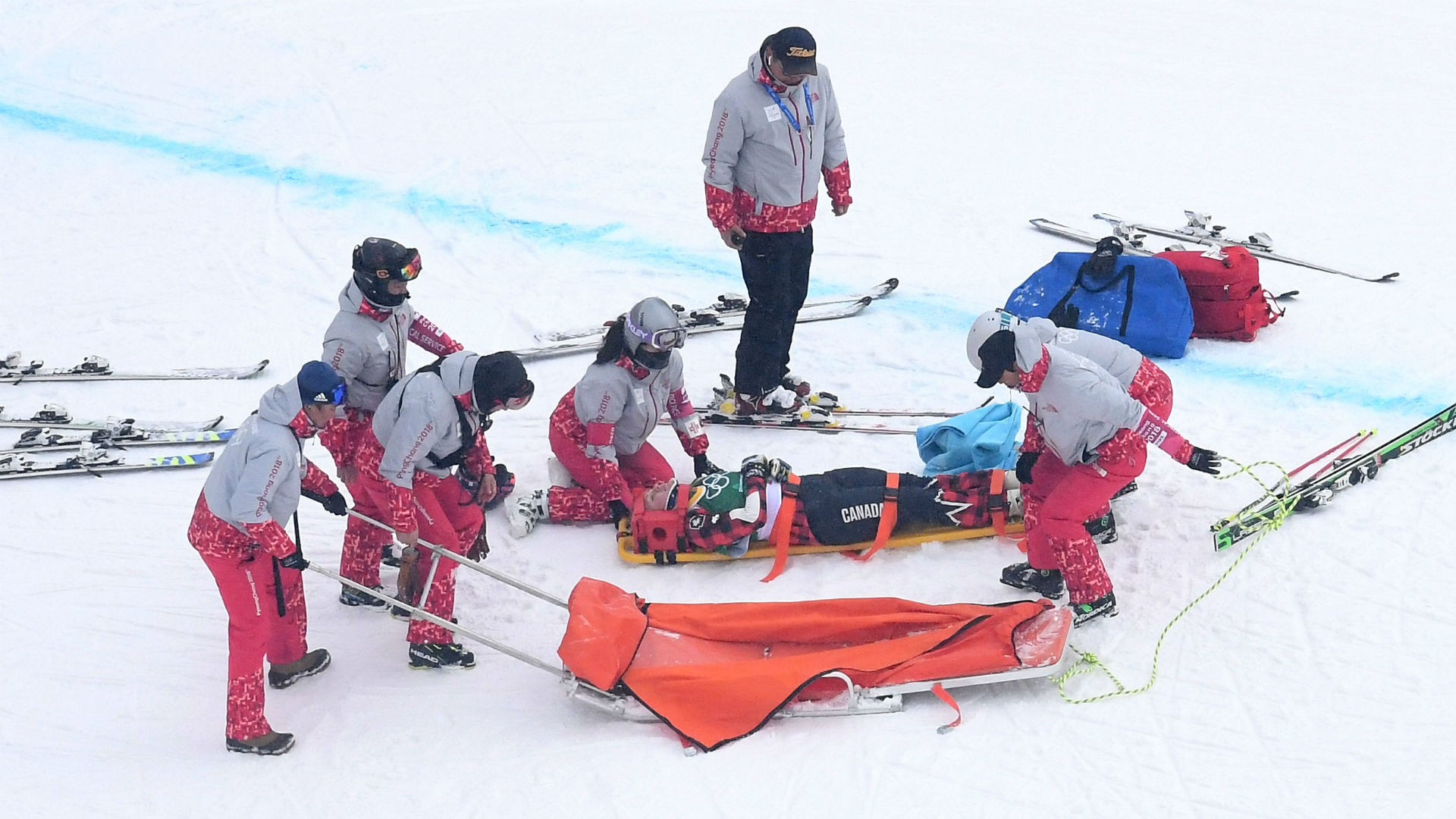 Winter Olympics 2018: Canada's India Sherret in stable condition after skiing crash