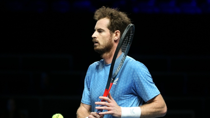 Andy Murray's run was ended in Metz