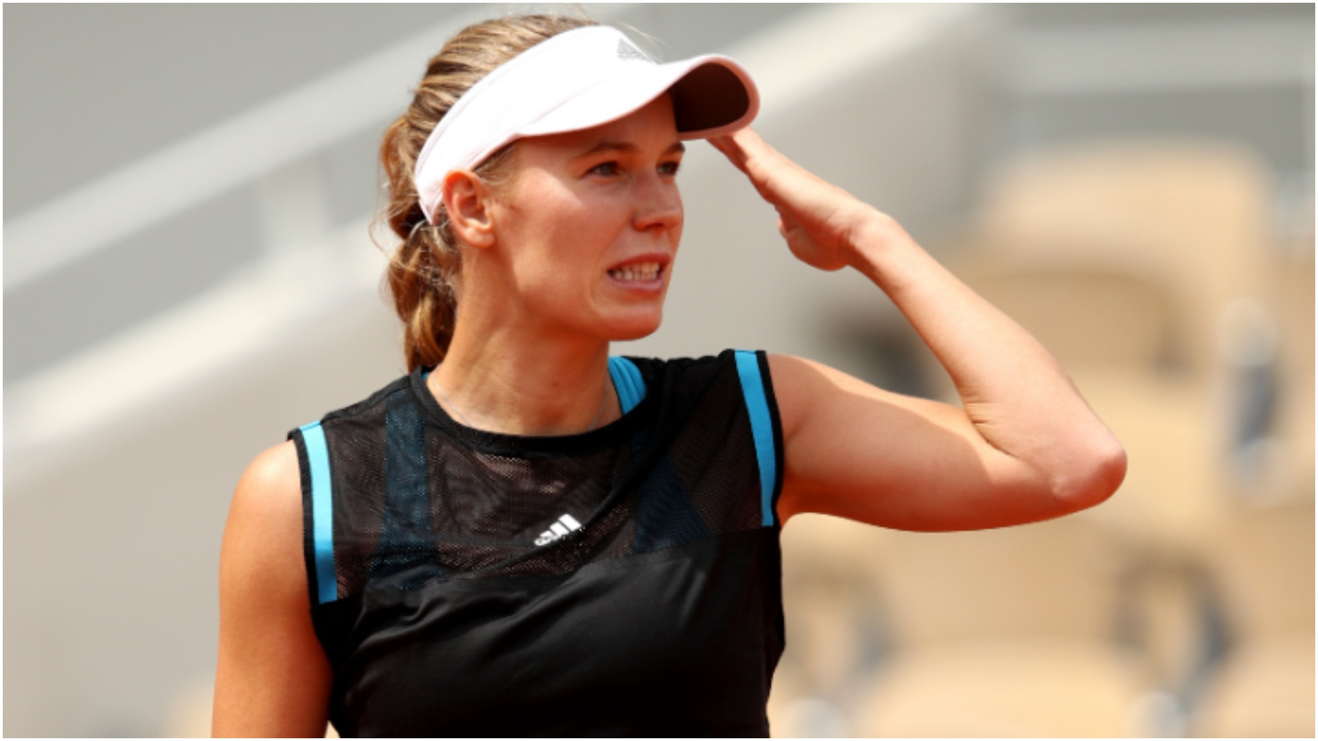 French Open 2019: Caroline Wozniacki trying to stay positive after shocking exit
