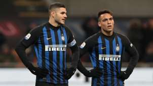 Mauro Icardi and Lautaro Martinez