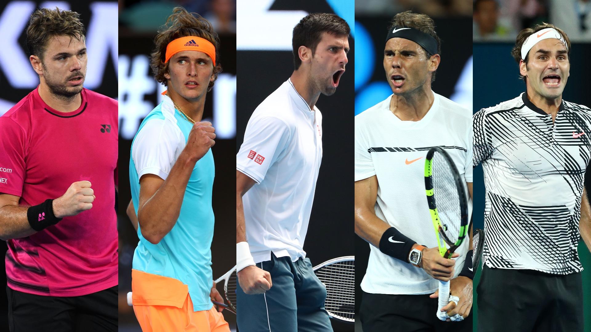 Australian Open men's draw: Novak Djokovic, Stan Wawrinka pose threat to Alexander Zverev