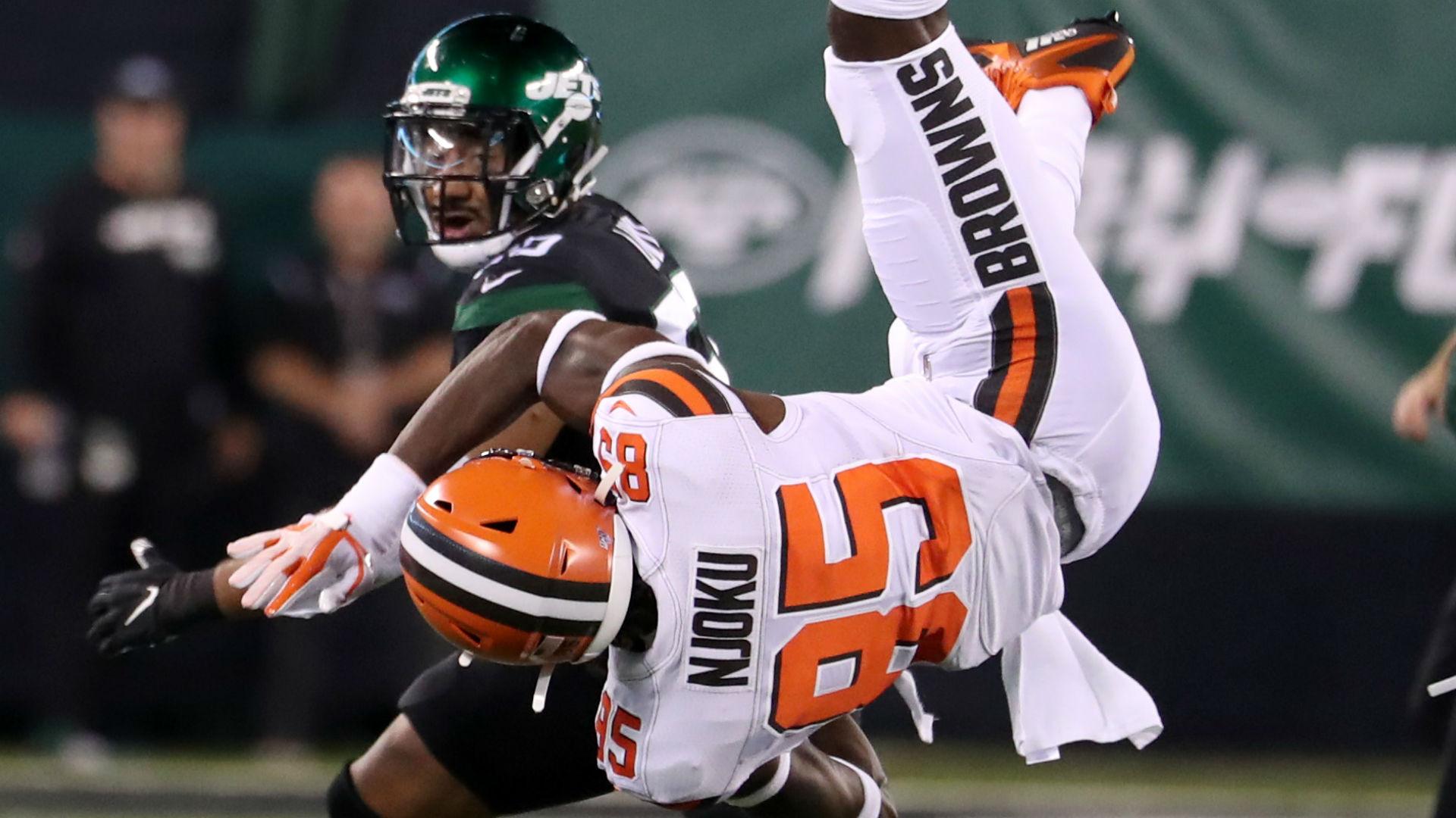 David Njoku injury update: Browns tight end broke wrist vs. Jets, report says