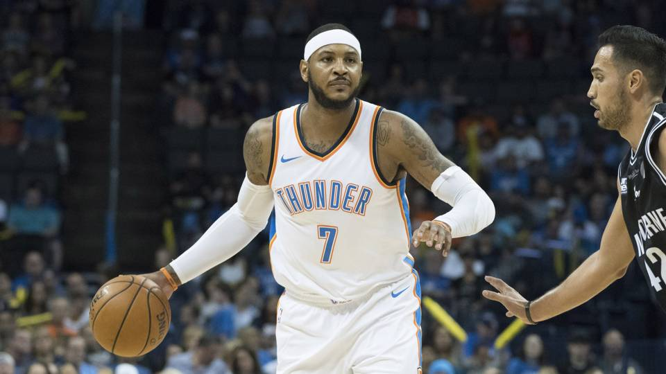 Carmelo Anthony says Thunder's 'lack of power' cause of recent poor stretch