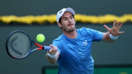 Andy Murray cut a frustrated figure