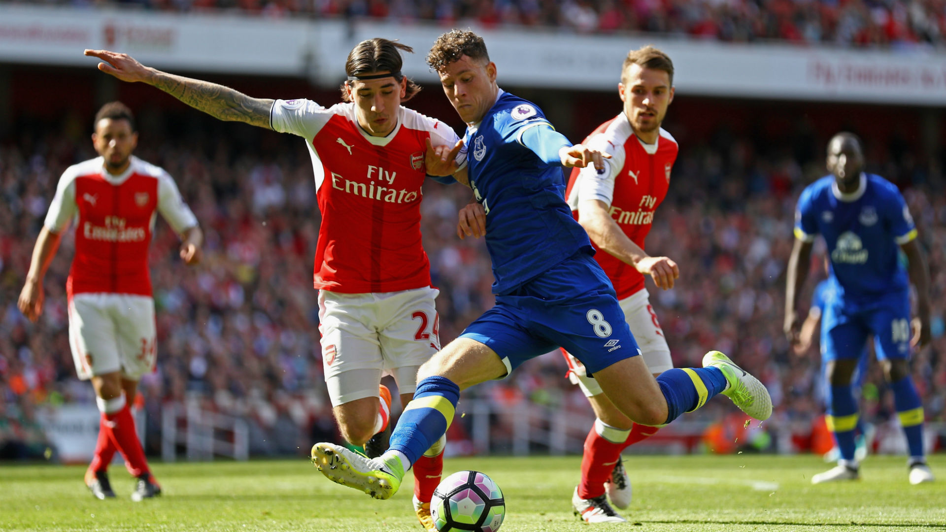 Arsenal 'to rival Tottenham Hotspur for Ross Barkley signature'